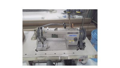 工業用ミシン2台(1本針/2本針)